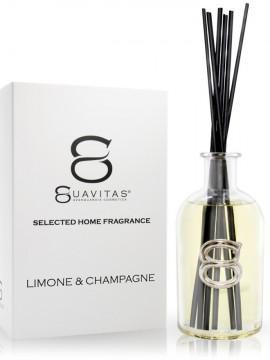 Diffusore Luxury a bacchette Limone e Champagne