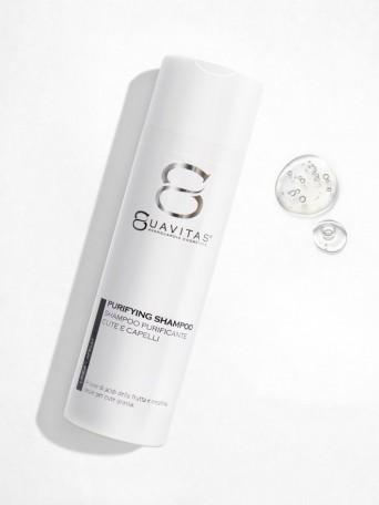 Shampoo purificante cute e capelli grassi Suavitas